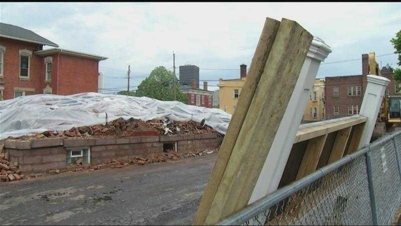 150-year-old Rochester building demolished after fire