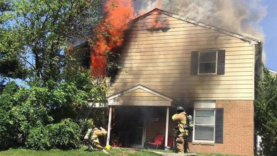 House fire in Glen Burnie sends firefighter to burn center, displaced seven