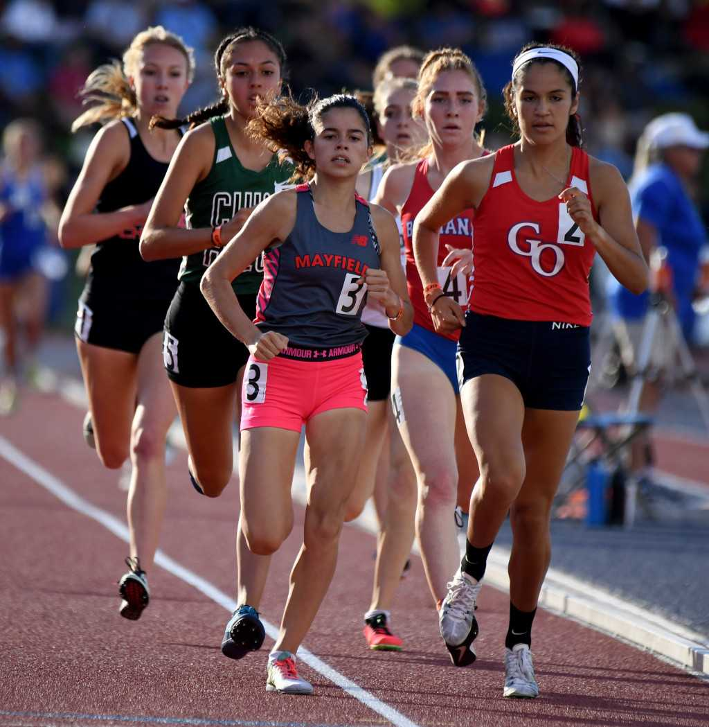 Mayfield's Suarez falls short in bid to win 1,600 at CIF State Track Finals