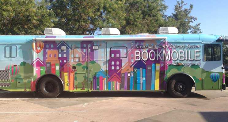 Riverside County Library System Bookmobile 2019 Summer Schedule