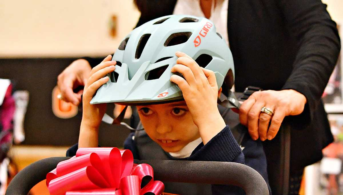 Adaptive bikes keep disabled children from being left out