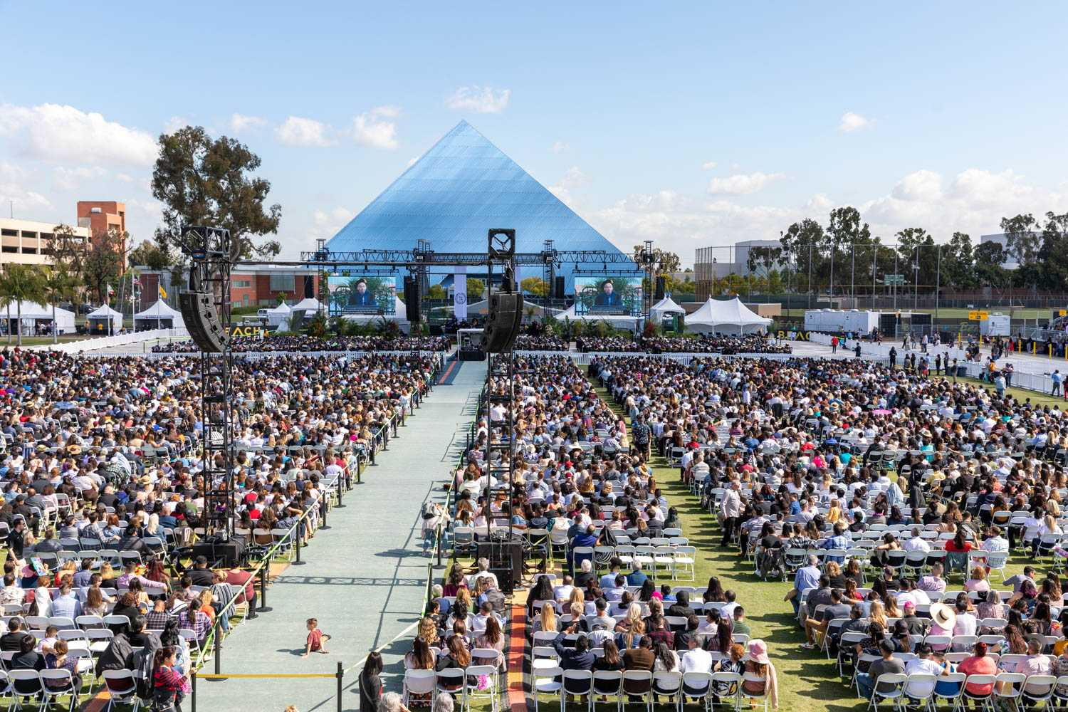 WLC Project Feature:  Cal State Long Beach Graduation 2019