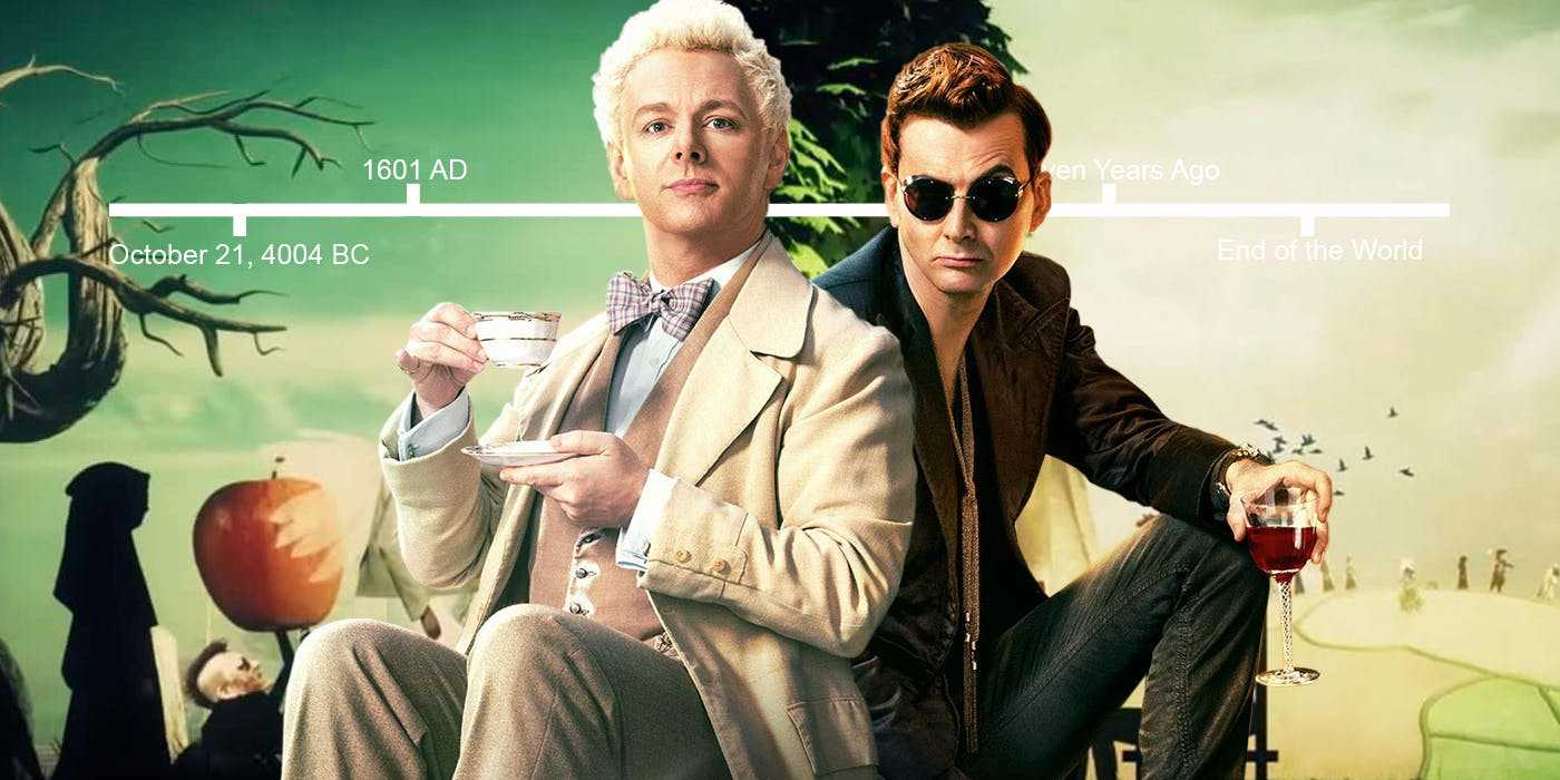 Good Omens Timeline Explained: Everything That Happens In Chronological Order