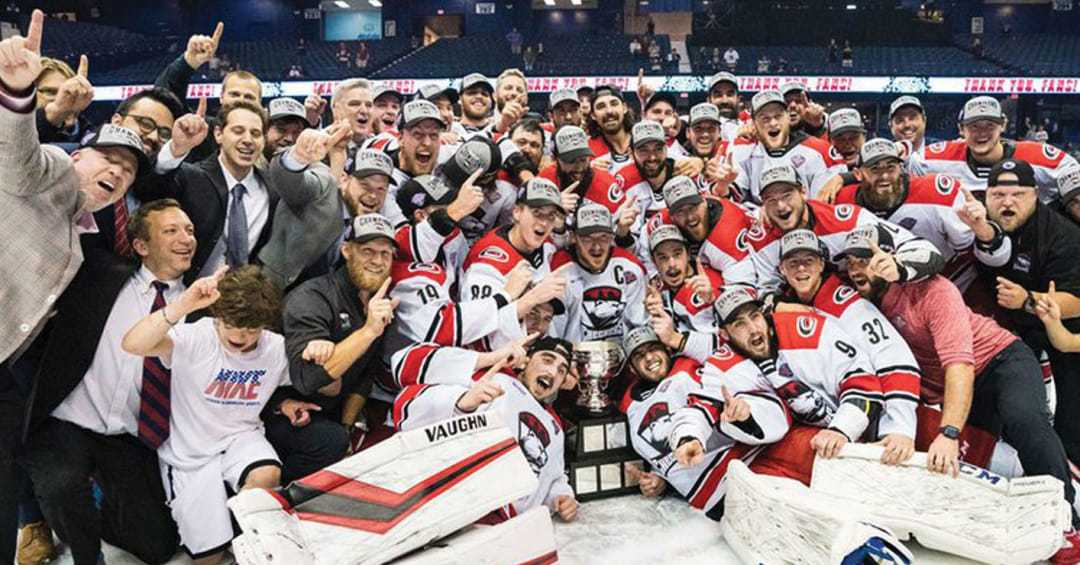 AHL champion Charlotte has eight former ECHL players