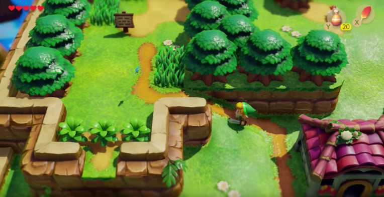 Nintendo reimagines a Zelda classic with Link's Awakening for the Switch