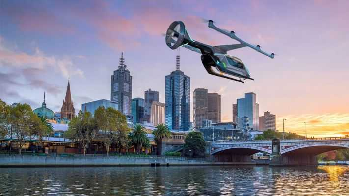 Uber Air picks Melbourne as its first international launch city