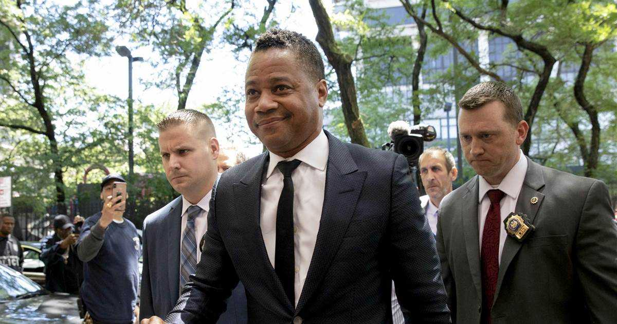 Cuba Gooding Jr. charged with forcible touching as second groping allegation emerges