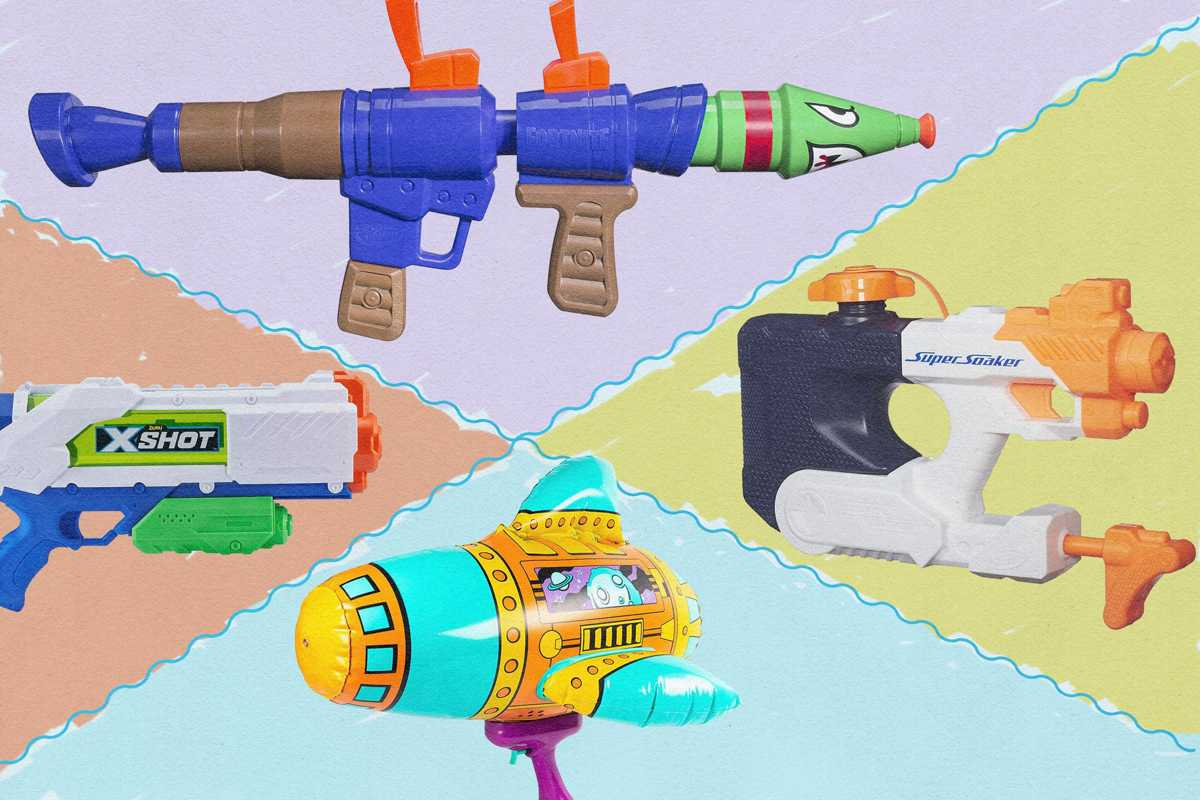 The Best Water Guns and Super Soakers, According to Toy Experts