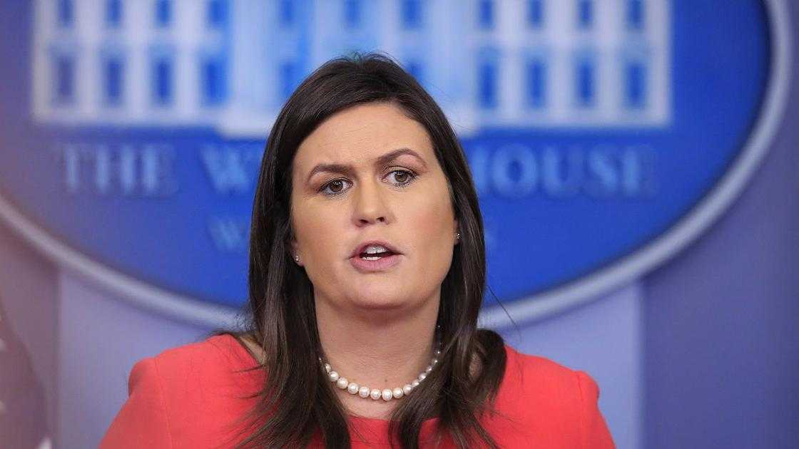White House Press Secretary Sarah Sanders to leave by the end of the month, Trump says