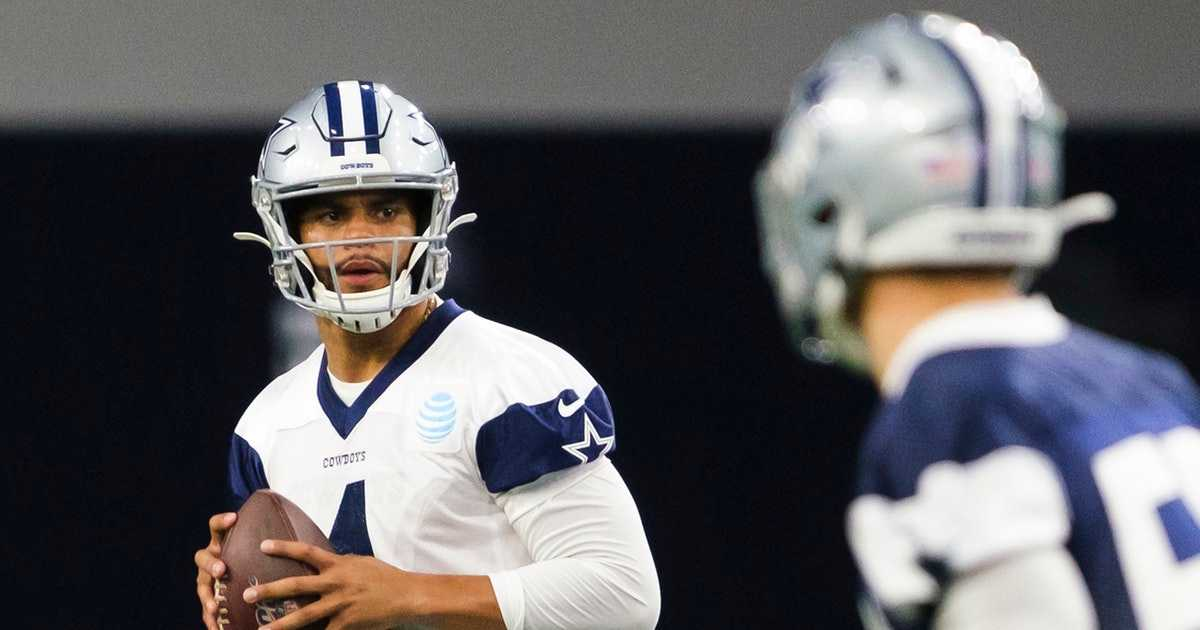 Dak Prescott gives an update on his new deal with a fashion statement: 'I've got my Cowboy hat on so I'm a Cowboy'