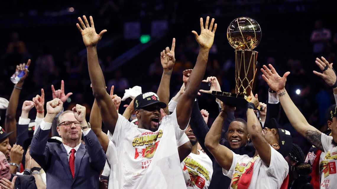 Toronto grinds its way to its first NBA Championship