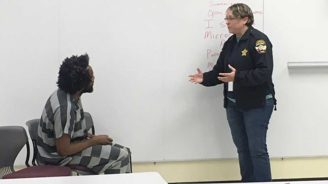 Travis County corrections officers get mental health training to help inmates