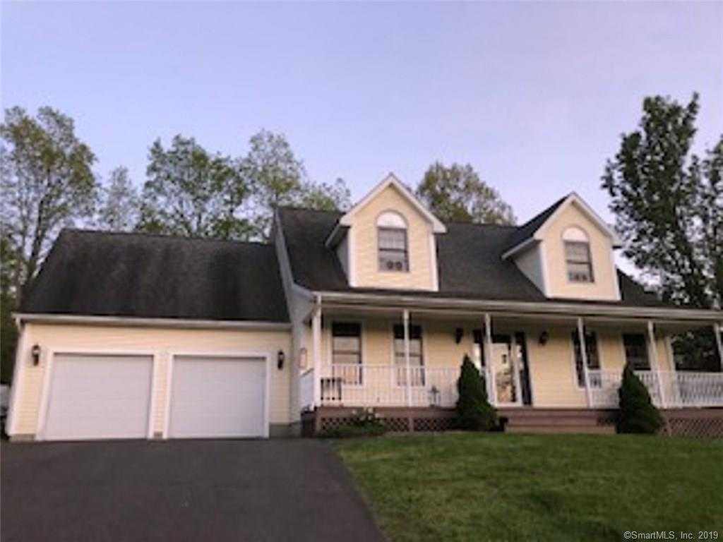 18 Heron Hill Road, Hebron, CT 06231 is now new to the market!