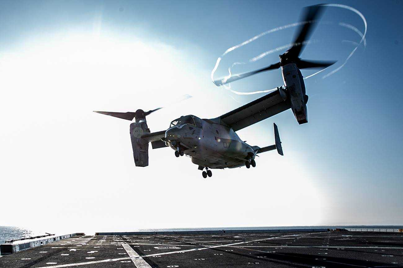 Bell Aims to Increase V-22 Mission Readiness Rates by 10 to 12 Percent