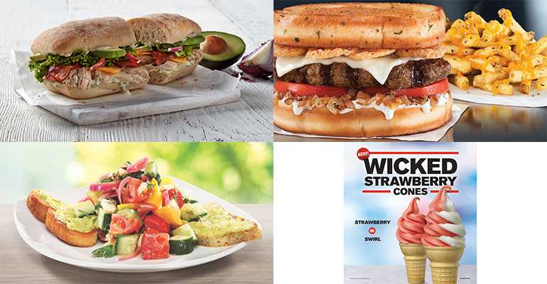 Menu Tracker: New items from Boston Market, Hardee's, Checkers and Rally's