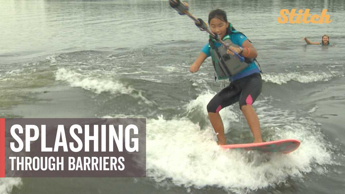 Splashing through barriers: Water sports program assists people with disabilities