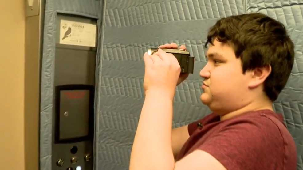 Young man with autism shares his passion for elevators through YouTube