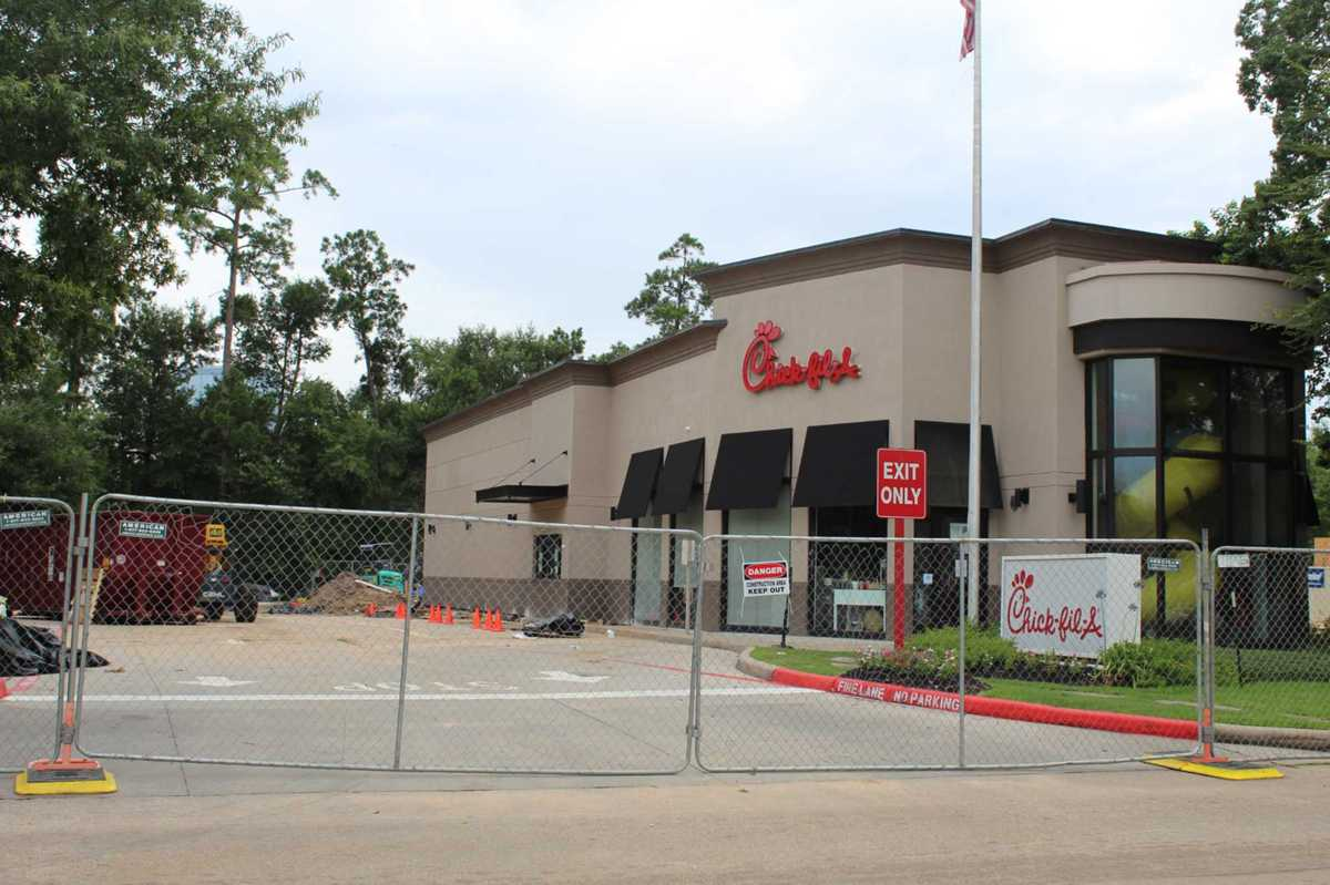 One Chick-fil-A in The Woodlands is to be closed until August