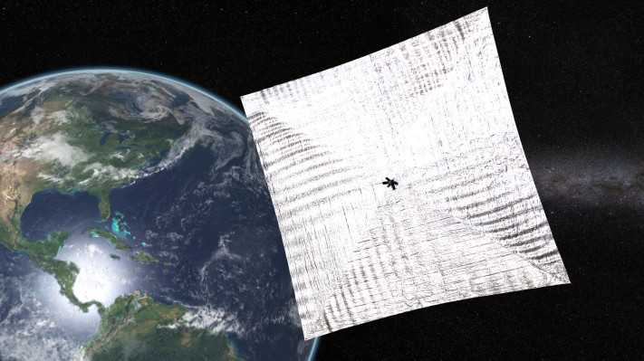 Crowdfunded solar sail spacecraft moves closer to flying on light alone