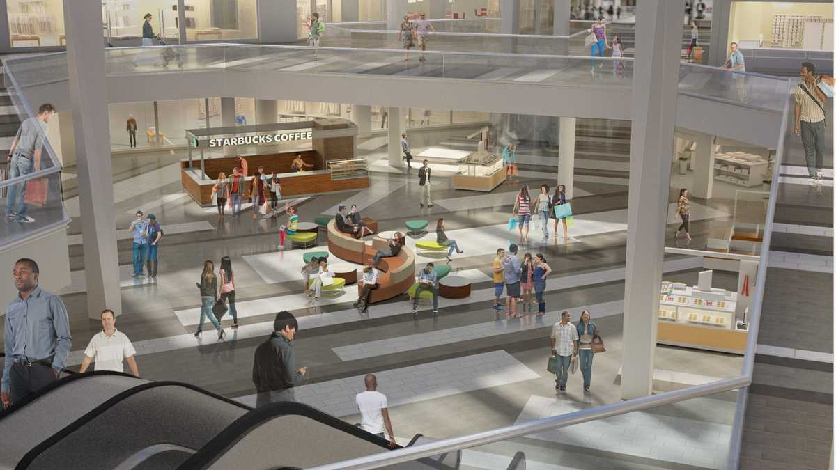 New dining pavilion, soft seating among Rockaway Townsquare mall upgrades