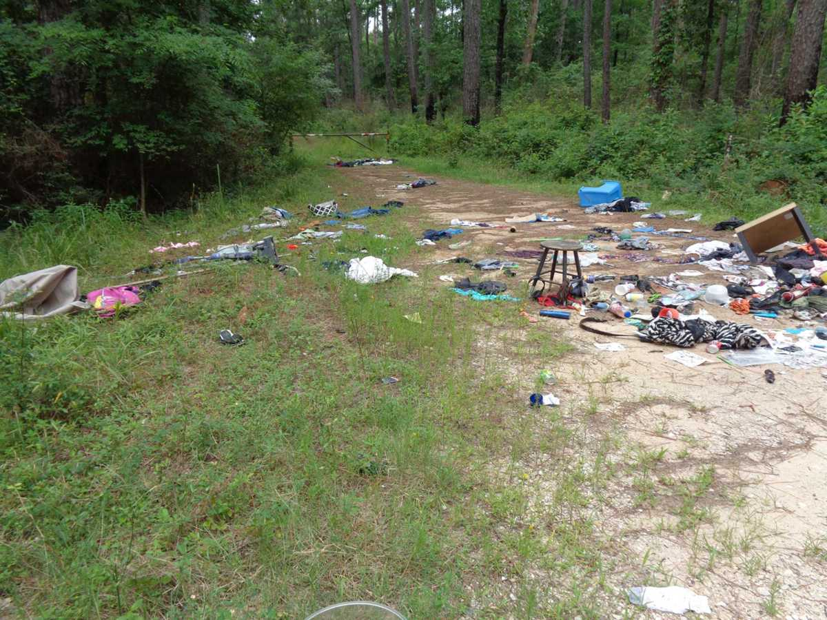 Illegal dumping called 'epidemic' at Sam Houston National Forest