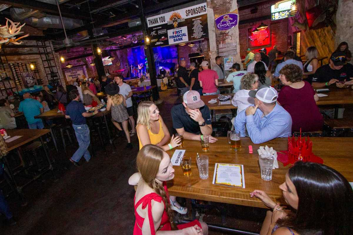 Conroe event toasts local firefighters