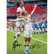 Alex Morgan and Megan Rapinoe U.S. Women's National Team Fanatics Authentic Autographed 2019 Women's World Cup Champions Sports Illustrated Magazine