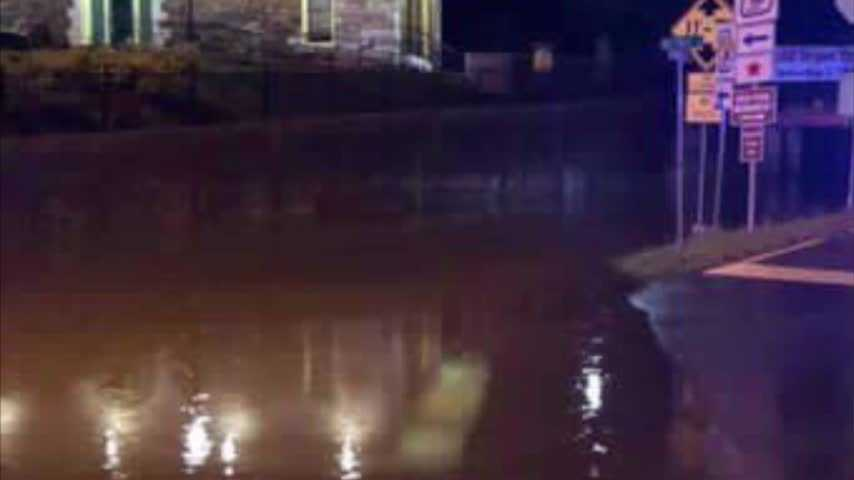 Ringgold shops and restaurants flooded Tuesday Night