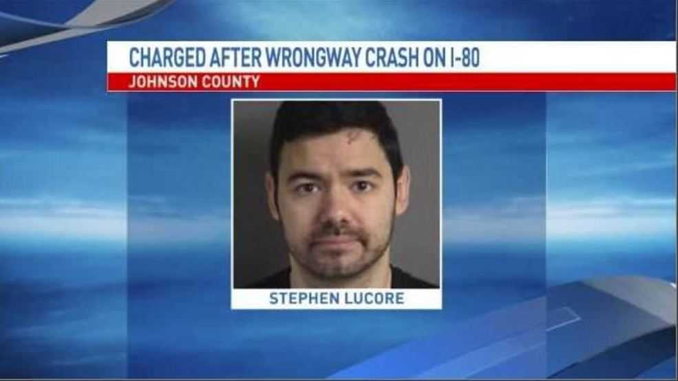 Driver charged with vehicular homicide for wrong-way I-80 crash