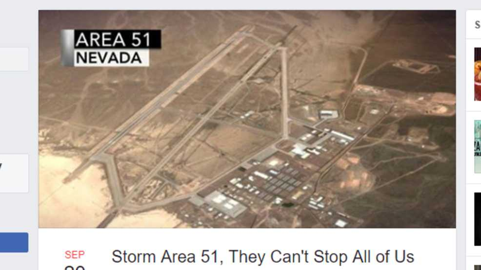 Group calls for everyone to 'storm Area 51' to 'see them aliens'