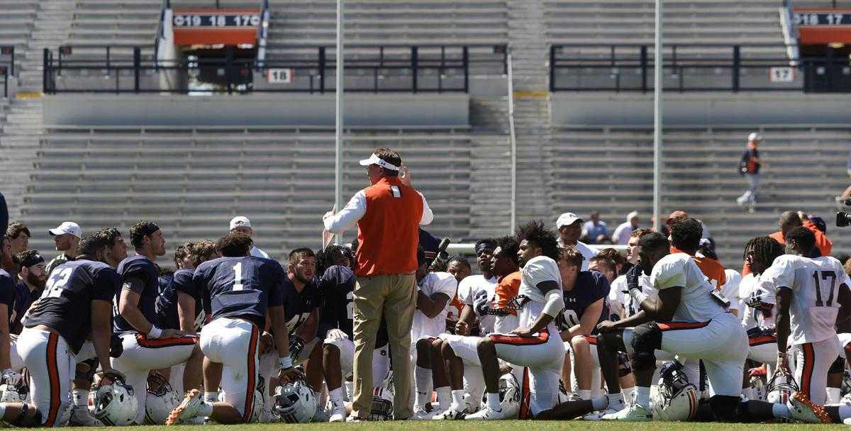 Auburn's top priority is naming a starting QB, but there is no set timetable