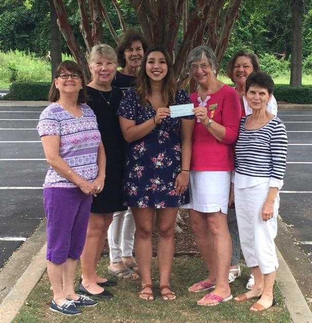 P.E.O. Chapter presents $1,000 scholarship to Rodriguez