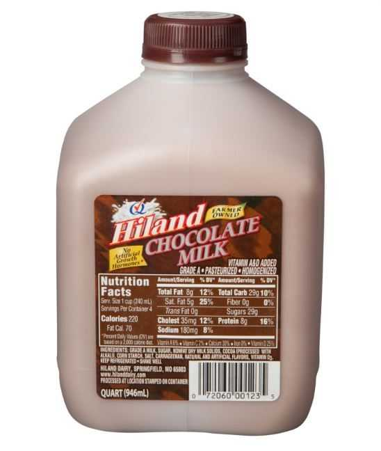 Judges vote Hiland Dairy has the best chocolate milk in the world