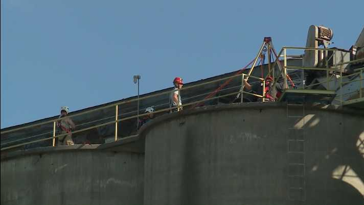 Man's body recovered from grain elevator near Fremont