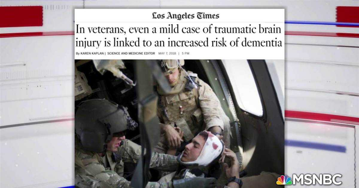 New study: Veterans could be up to three times more likely to develop Dementia and Alzheimer's
