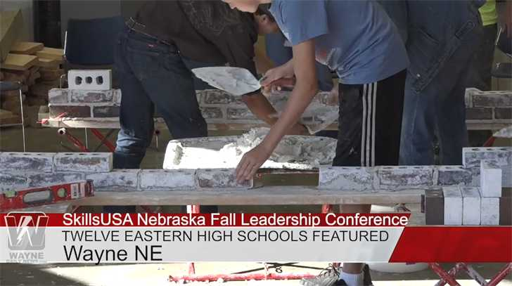 SkillsUSA Fall Leadership Conference Hosted On Wayne State Campus For Eastern Nebraska Schools