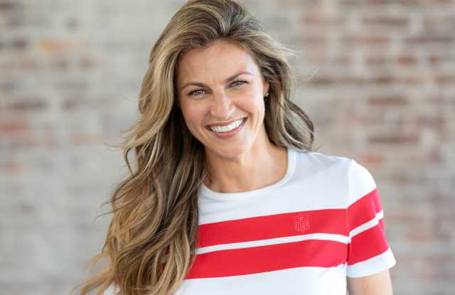Erin Andrews, Fox NFL Sportscaster, Designs a Sportswear Collection