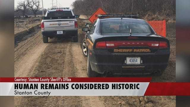 Stanton County Human Remains Considered Historic