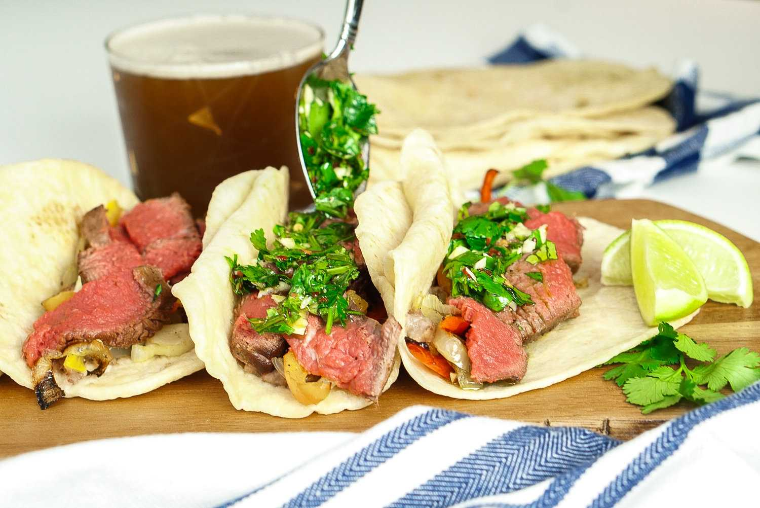 Cilantro Chimichurri Sauce Recipe — Couple in the Kitchen