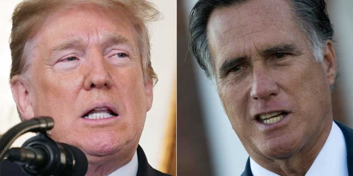 President Trump calls for Mitt Romney's impeachment: 'Pompous a**'