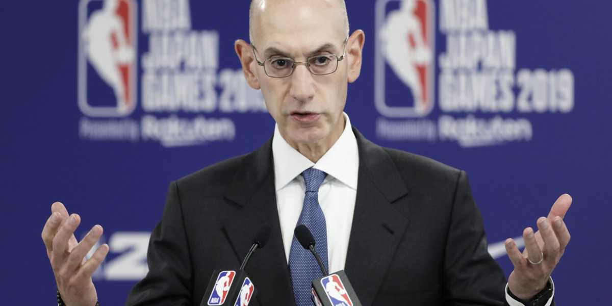 China will no longer broadcast NBA games after Commissioner Adam Silver announces his support for free speech