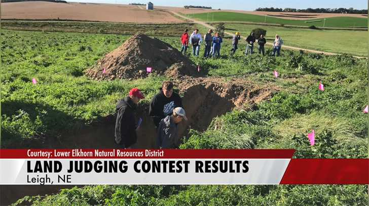 West Point High takes first place at the Northeast Area FFA Land Judging Contest