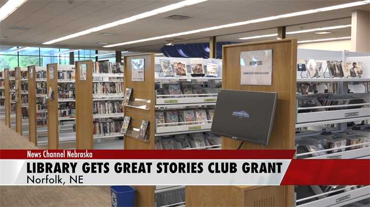 Norfolk Public Library receives Great Stories Club grant from the American Library Association