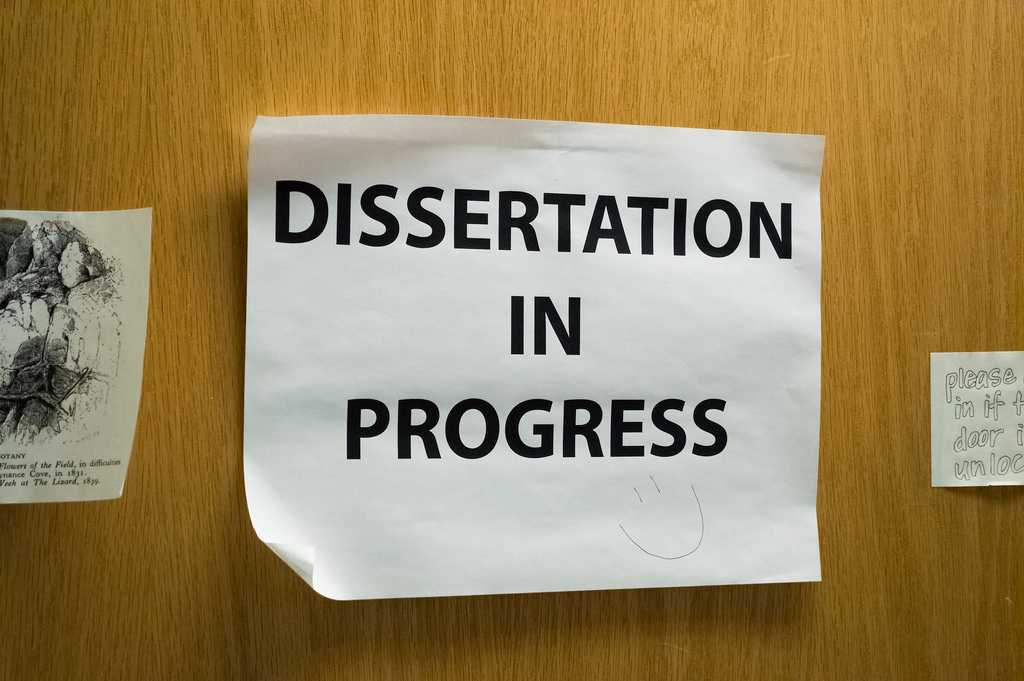 Exercising Intentionality in Dissertation Topic Selection