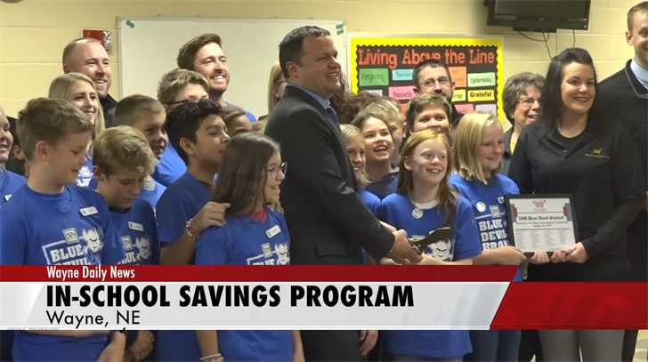 In-School Elementary Savings Program Starts In Wayne