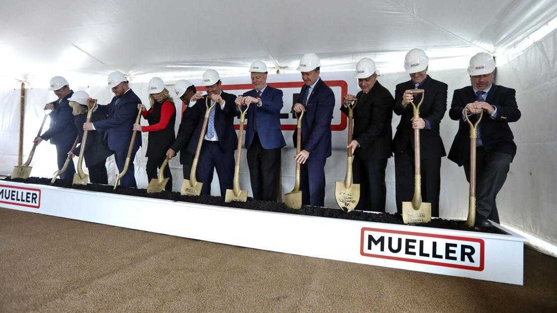 Mueller Water Products breaks ground for state-of-the-art foundry in Decatur