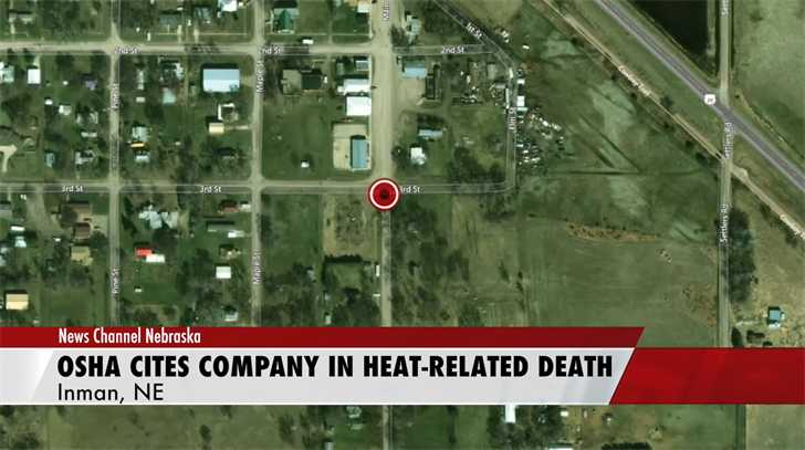 OSHA Cites Utility Pole Company in Heat-Related Fatality at Nebraska Worksite