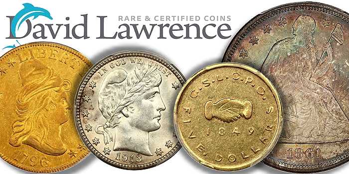 Rare Gem US Coins From the Hansen Collection at David Lawrence Rare Coins