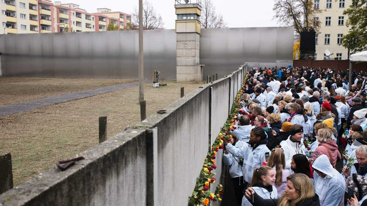 'No wall can't be broken down': Germany marks 30 years since collapse of the Berlin Wall