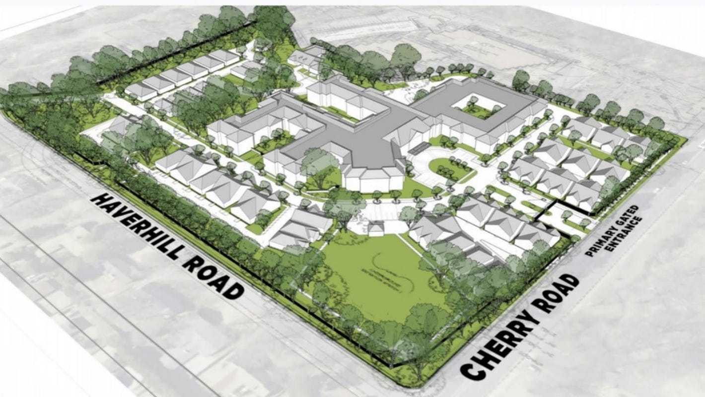 Team behind Union Row plans senior living community near University of Memphis